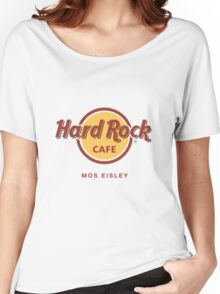 Hard Rock Cafe Mos Eisley Star Wars  Women's Relaxed Fit T-Shirt