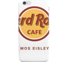 Hard Rock Cafe Mos Eisley Star Wars  iPhone Case/Skin