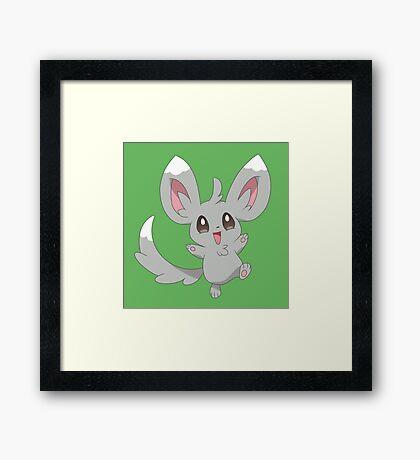 Minccino the Pokemon Framed Print