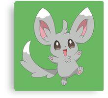 Minccino the Pokemon Canvas Print