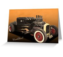 Rat Rod Angry - Explained! Greeting Card