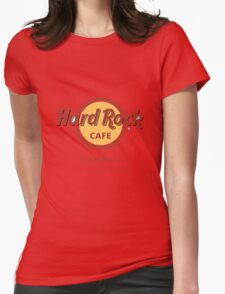 Hard Rock Cafe Winterfell Game of Thrones Womens Fitted T-Shirt