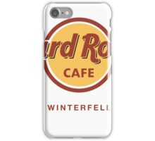 Hard Rock Cafe Winterfell Game of Thrones iPhone Case/Skin