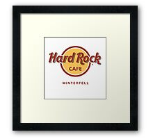 Hard Rock Cafe Winterfell Game of Thrones Framed Print