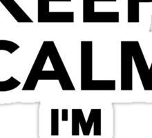 Keep calm I'm a Barber Sticker