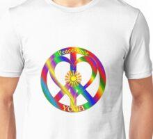 Peace Love Yoga Unisex T-Shirt