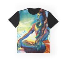 Shiva in Meditation Graphic T-Shirt