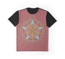 Bee Mandala Graphic T-Shirt