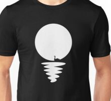 Paper Swan in the Sunset [B&W] Unisex T-Shirt