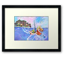 Wind Waker Colour Study Framed Print
