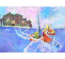 Wind Waker Colour Study Photographic Print