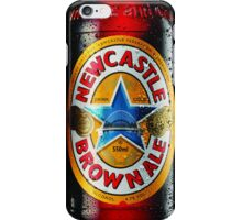 newcastle brown ale bottle phone case iPhone Case/Skin