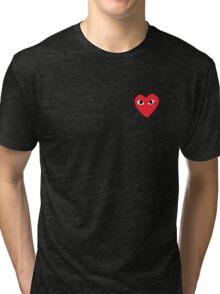 Heart Bape sticker Tri-blend T-Shirt