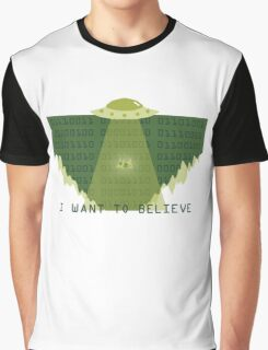 Gameboy UFO Graphic T-Shirt