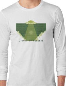 Gameboy UFO Long Sleeve T-Shirt
