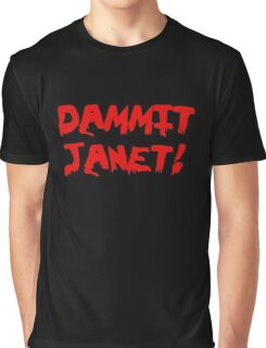 Rocky Horror Dammit Janet Graphic T-Shirt