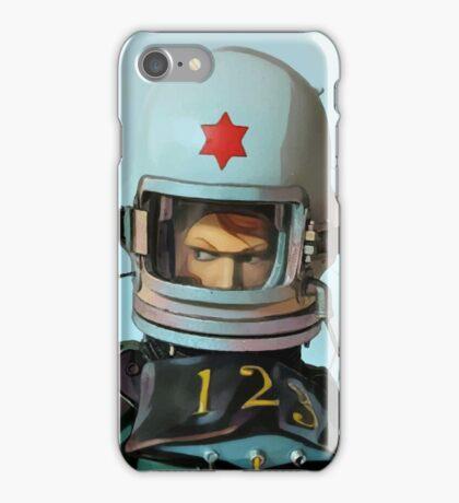 Cosmonaut Vector iPhone Case/Skin