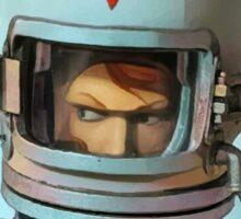 Cosmonaut Vector Sticker