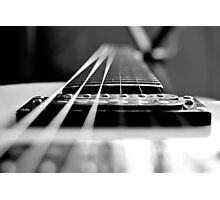 Guitar Neck Photographic Print