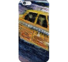 NYC taxi 2 iPhone Case/Skin