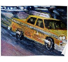 NYC taxi 2 Poster