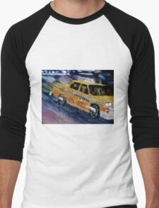 NYC taxi 2 Men's Baseball ¾ T-Shirt