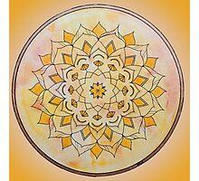 Sacral Chakra Mandala Photographic Print