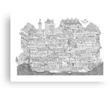 House Maze Canvas Print