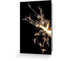 Sparkle Card Greeting Card