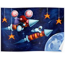 The space race Poster