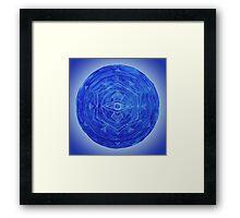 Third Eye Chakra Mandala Framed Print