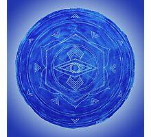 Third Eye Chakra Mandala Photographic Print