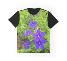 Speedwell Flower Graphic T-Shirt