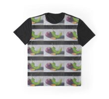 Red Onion, Carrot, and Chili Pepper Graphic T-Shirt