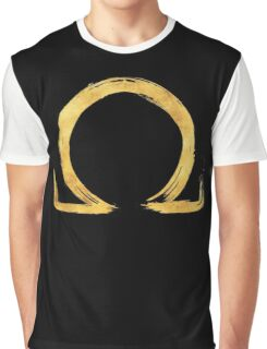 Letter Omega - Gold Edition Graphic T-Shirt