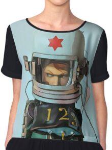 Cosmonaut Vector Large Chiffon Top