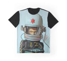 Cosmonaut Vector Large Graphic T-Shirt