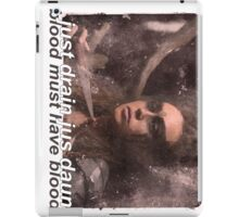 lexa iPad Case/Skin