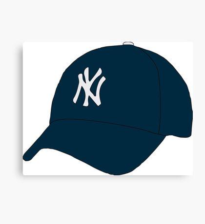 Yankees Hat Canvas Print