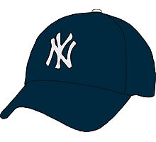 Yankees Hat Photographic Print