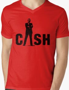 man the legend black silhouette Mens V-Neck T-Shirt