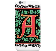 Medieval Letter A Monogram iPhone Case/Skin