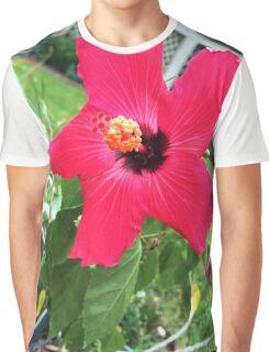 Hibiscus Graphic T-Shirt