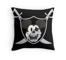 Mickey The Monkey Throw Pillow