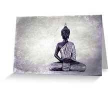 Buddha - JUSTART © Greeting Card