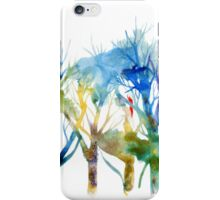 Blues forest iPhone Case/Skin