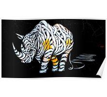 Rhinoceros Unravelled Poster