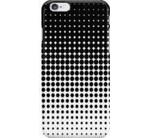 Black dots Abstract pattern  iPhone Case/Skin