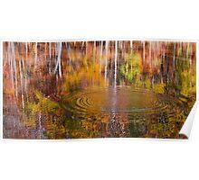 Water Reflection - Sweet Water Creek Poster