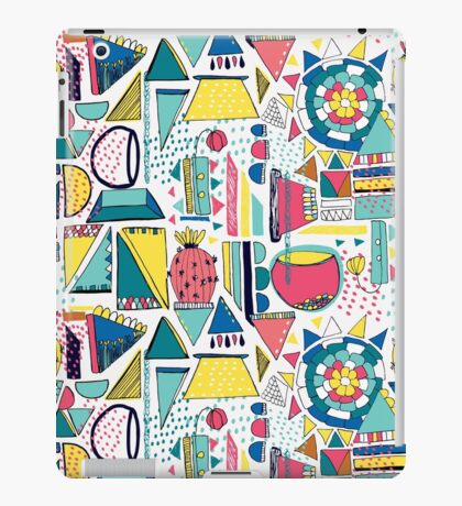Modern Pop Art iPad Case/Skin